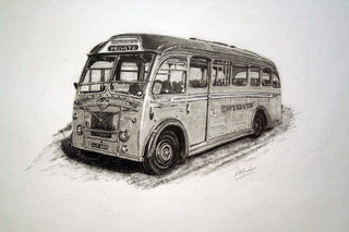 Commission - Leyland Cub - Pencil