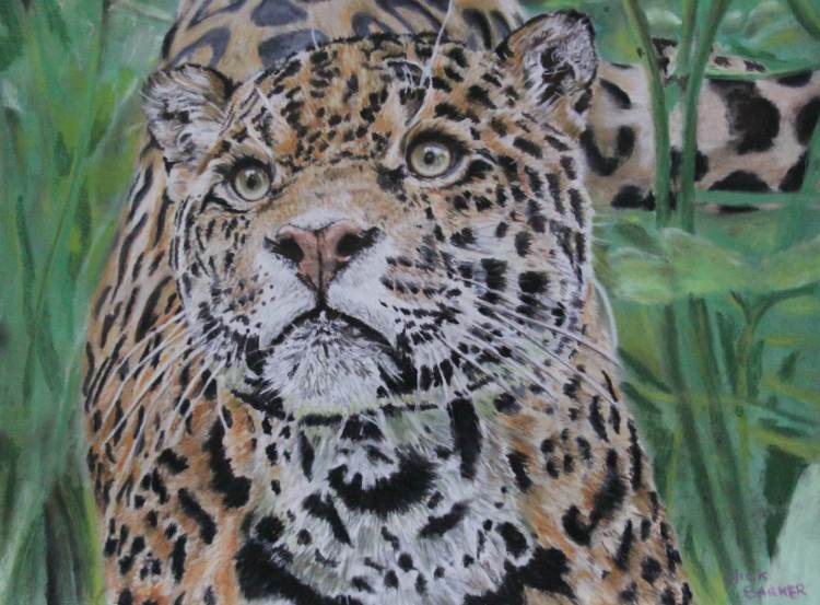"Sovereign - Pastel - Framed Original - £250 - Size 23.5""x20"""
