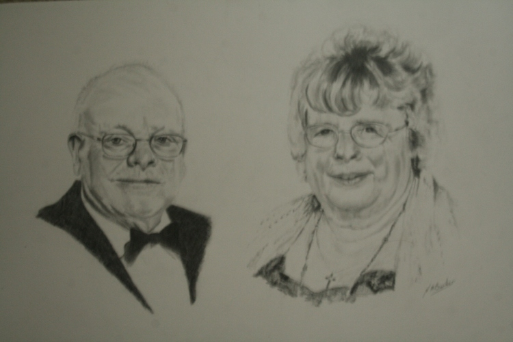 Commission - Inlaws - Graphite pencil