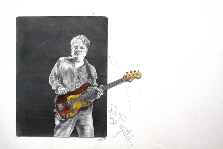 Pete Briquette (BTR) - Pencil and coloured - Original unframed signed - £250