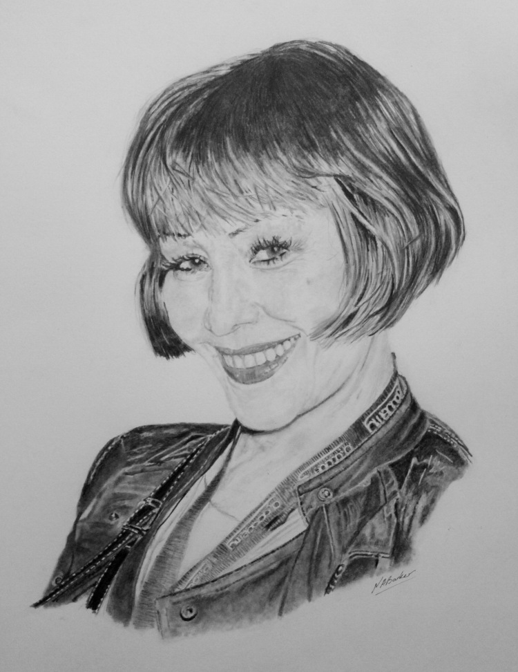 Saffron Spracklin - Pencil - £Sold