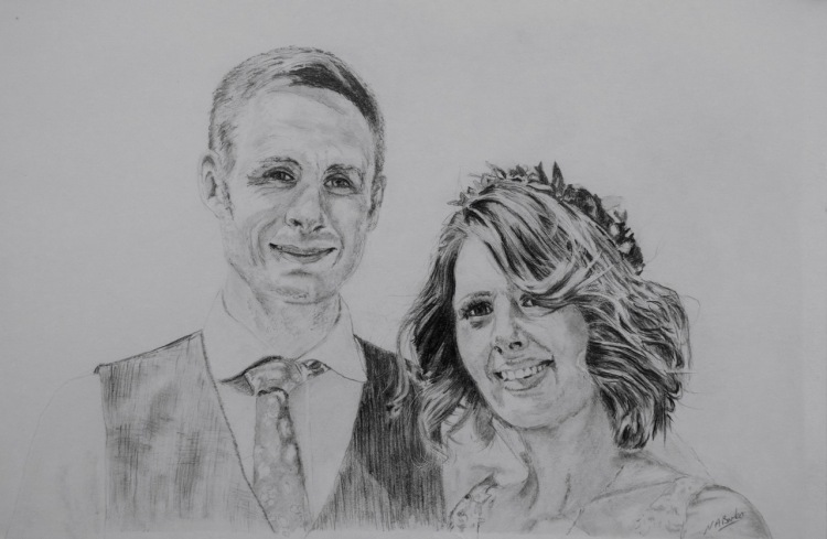 Commission - Alannah and Dave - First Anniversary