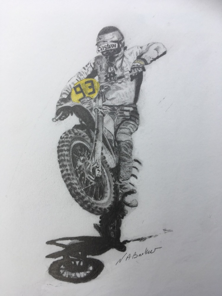 Mike Ripper - Graphite - Sold